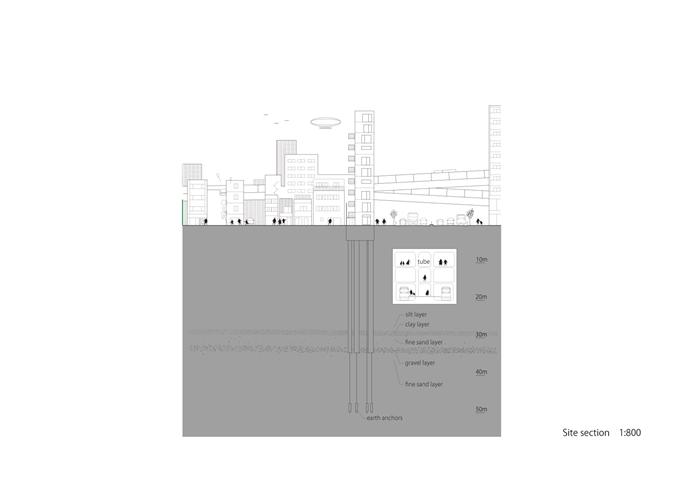 Tatsumi apartment house tokyo hiroyuki ito floor plans - Takanawa house by o f d hiroyuki ito ...